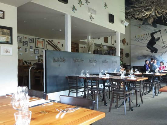 Jean-Michel at the Knickerbocker: Part of the restaurant's rather eclectic but relaxed interior