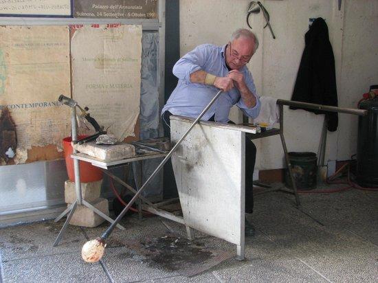 Glass Factory Colleoni: Tecnica del vetro soffiato