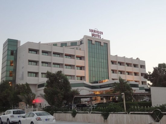Shaygan Hotel: Out side of hotel