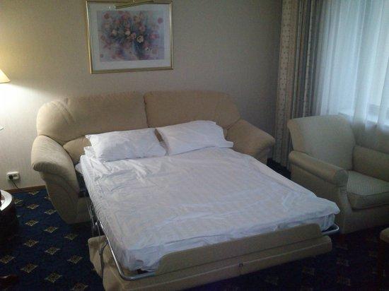 Moscow Country Club: Раскладной диван в двухместном номере