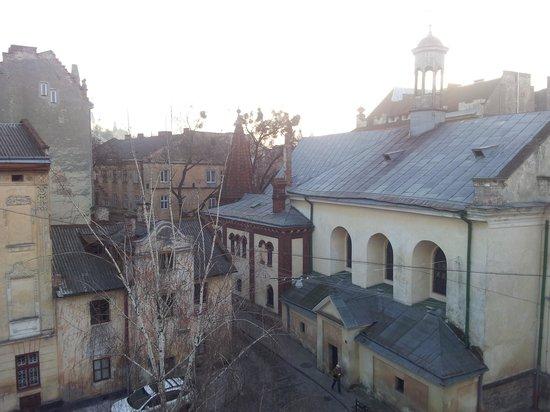 Saint Feder Hotel: вид из окна