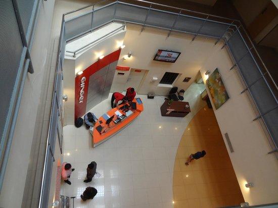Ginger Mysore : ground floor, reception