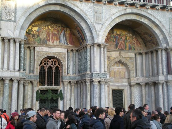 Markusdom (Basilica di San Marco): Facciata esterna laterale