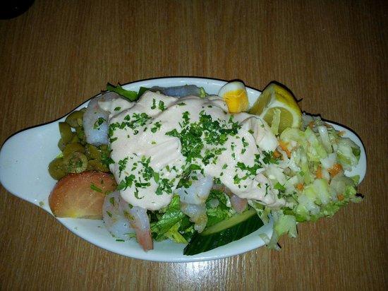 Il Fanal : Prawn salad