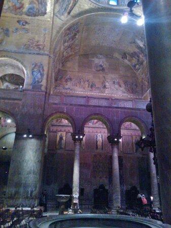 Markusdom (Basilica di San Marco): Mosaici, altro scorcio