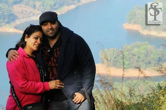 Aruvi Resorts : me with my luv
