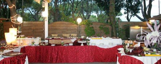 Hotel Vina del Mar Pineta: Buffet dei dolci