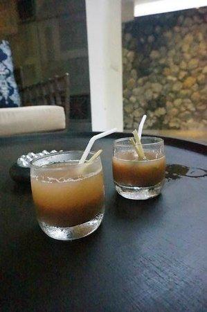 Mahala Hasa: Our welcome drinks