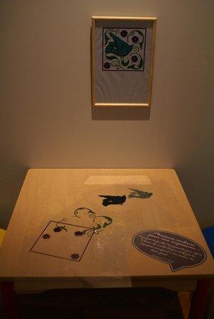 Musee de Bourgoin-Jallieu : Coin des enfants, ici, les surimpressions