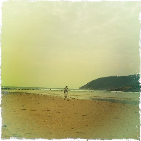 Mae Haad Beach: Отлив