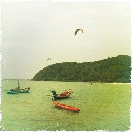Mae Haad Beach: Лодки
