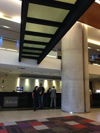 Atton Hotel El Bosque: Recepción
