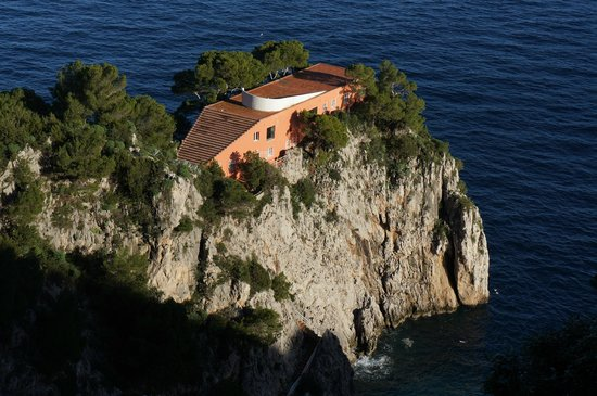 Natural Arch: Villa Malaparte