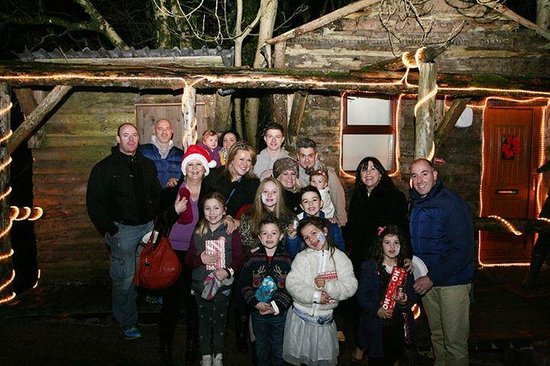 Todds Leap Activity Centre: Symington family at Todds Leap