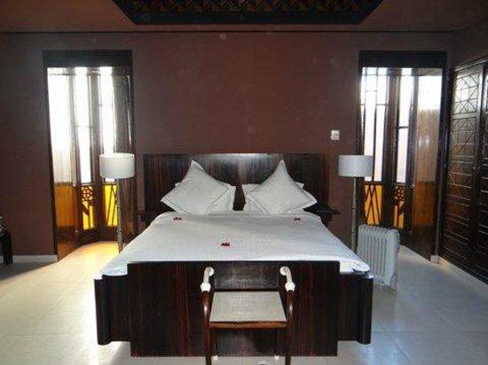 Villa Makassar : une vue partielle de notre chambre