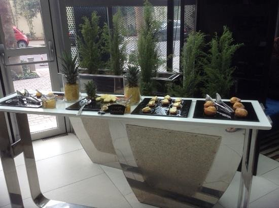 Sofitel Casablanca Tour Blanche: breakfast area