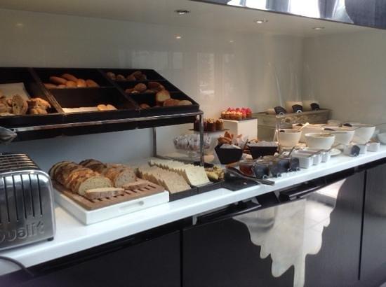 Sofitel Casablanca Tour Blanche : breakfast area