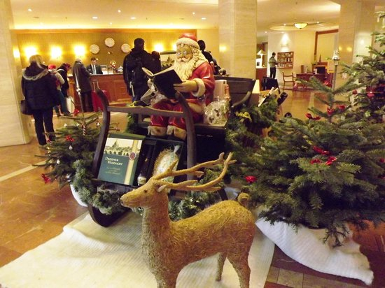 The Westin Bellevue Dresden : Christmas time at the Westin