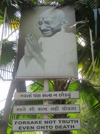 Sabarmati Ashram / Mahatma Gandhi's Home: De bescheiden man