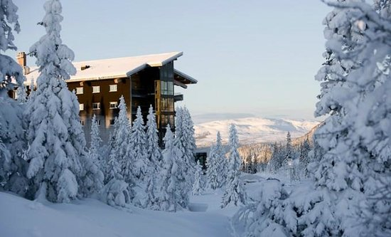 Copperhill Mountain Lodge: Toppen!