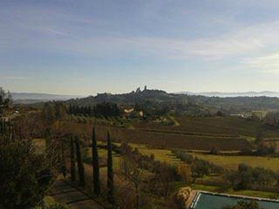 Villa Ducci : Panoramica dalla camera