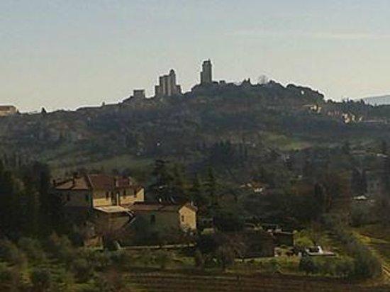 Villa Ducci : Panoramica dalla sala ristorante