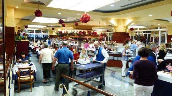 VIK Hotel San Antonio: Der große Speisesaal