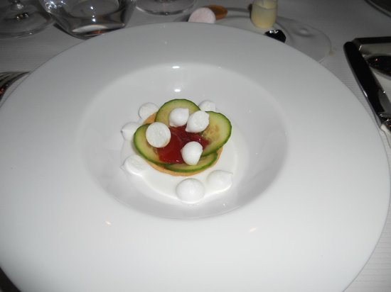 Pierre Gagnaire : Assiette du Grand dessert