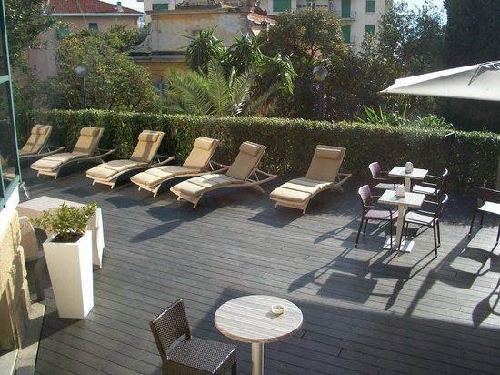 Hotel Villa Sylva : giardino