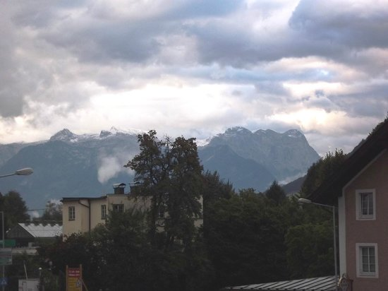 Hotel Hafnerwirt: I woke up to see this out the window...