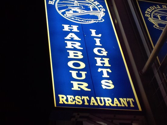 Harbour Lights Seafood Grill: restaurant sigh