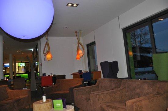 Explorer Hotel Neuschwanstein: Lounge / Bar / Frühstücksraum