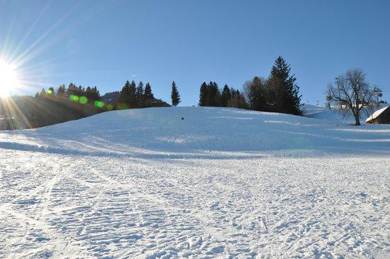 Explorer Hotel Neuschwanstein: Skihang direckt vor dem Hotel