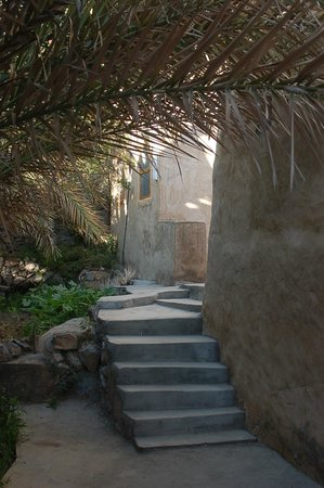 Misfah Old House: Village walk