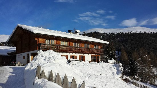 Haflingerhof: panorama sulla struttura