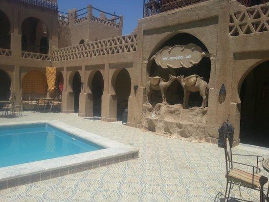 Nasser Palace : belle vue de l'intérieur