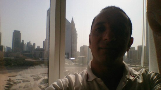Novotel World Trade Centre Dubai : view