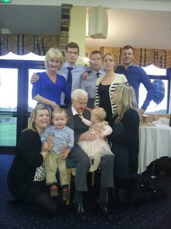 Howley Hall Golf Club: 90th Birthday Meal for Denise' Dad at Howley
