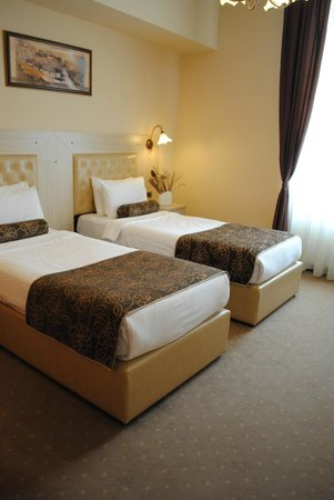 Belgrade City Hotel : Standard twin room