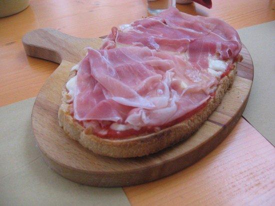 Carpaccio Ristorante Italiano: il bruschettone