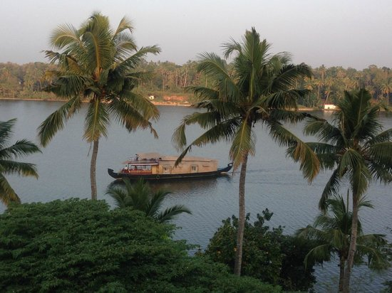 The Raviz Resort and Spa, Ashtamudi : view out of my room