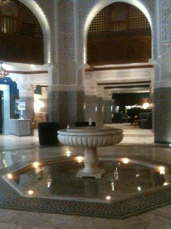 Palmeraie Palace: hotel lobby