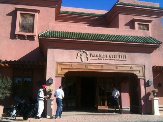 Palmeraie Palace: at the golf club