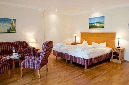 Upstalsboom Strandhotel: Hotelzimmer