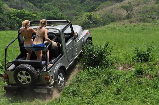 Gwahumbe Game & Spa: loads of 4x4 fun places to go