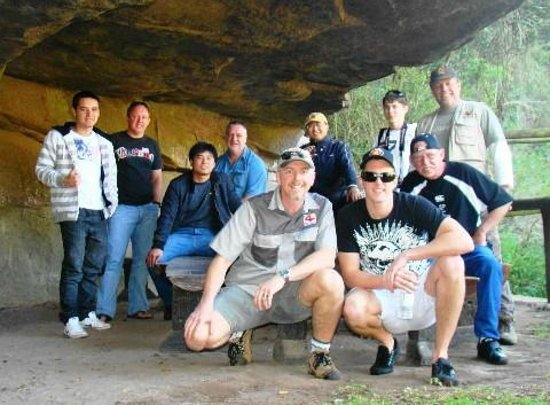 Gwahumbe Game & Spa : Cave photo