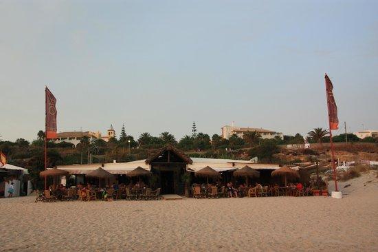 La Ola Restaurant & Lounge Bar: Desde la playa