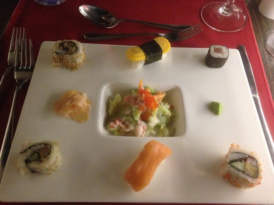 Olympic Lagoon Resort: Diner in the Japanese restaurant was amazing . Highly recommend it !