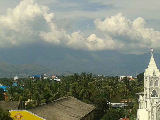 Hotel Indraprastha : View from the hotel terrace