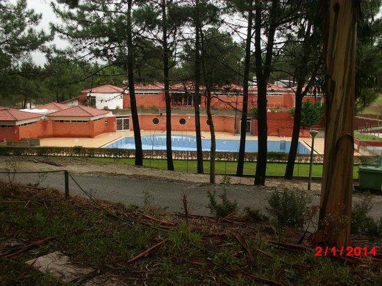 Parque de campismo Orbitur Foz do Arelho: vista da casa